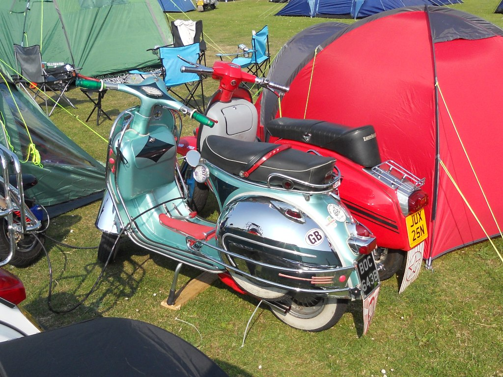 Cleethorpes National Scooter Rally 2013
